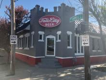 Falls City Beer building outside